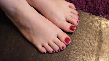 Just painting my toenails