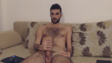 Big dick hairy chest